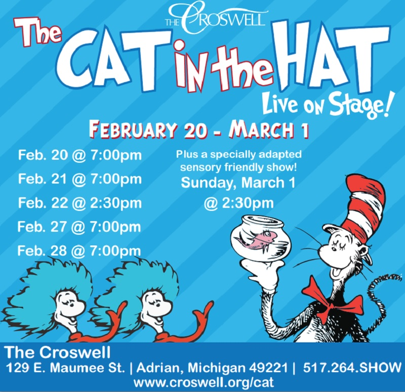 Cast Of The Cat In The Hat: 'The Cat In The Hat' Comes To The Stage In Adrian
