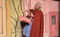 Becca Nowak as Little Red Riding Hood.