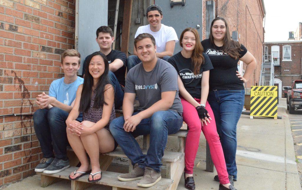 The Croswell's summer interns are, from left to right, Aiden Zamzow, Alison Carpenter, Greg Hall,  Frank Viskup, Jake Kimerer, Franny Kromminga, and Ashley Sattler.