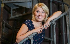 Kyrie Bristle has been named director of development for the Croswell Opera House in Adrian. (Photo by Lad Strayer)